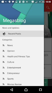 Megasblog- screenshot thumbnail