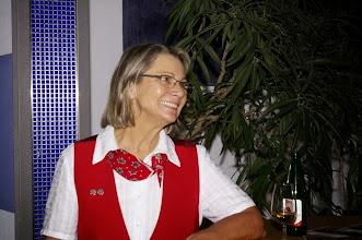 Photo: Unsere aufgestellte Kassierin, Charlotte Wullschleger
