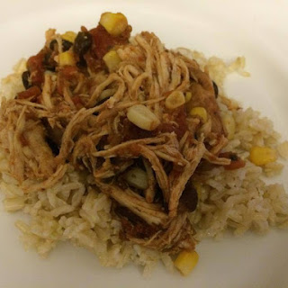 Slow Cooker Mexican Chicken.