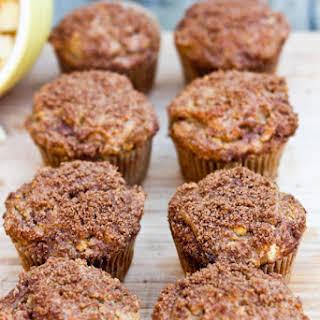 Healthy Apple Cinnamon Muffins.