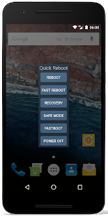 Quick Reboot Pro [ROOT] Screenshot