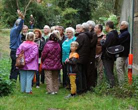 Photo: Jens Mortensen, Gladsaxe Lokalhistoriske Forening, fortæller om den dramatiske fortid i Gladsaxe