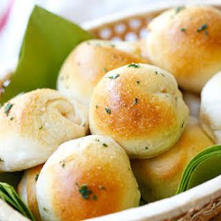 Garlic Herb Cheese Bombs.