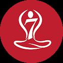 7pranayama - Yoga Daily Breath Fitness Yoga & Calm icon