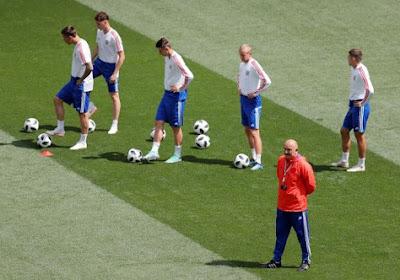 Cherchesov, de bondscoach van Rusland, moet twee sterkhouders missen tegen de Rode Duivels