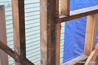 """Photo: 4 1/2"""" wide window sill in a 3 1/2"""" wall. What were they thinking!"""