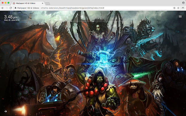 Heroes of the Storm HotS HD Wallpaper New Tab