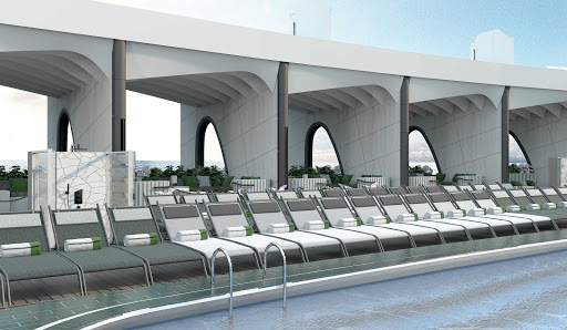 The Resort Deck on Celebrity Beyond, due to debut in April 2022.