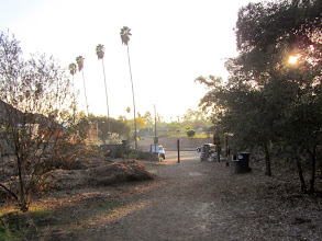 Photo: Nearing the end of my hike on Colby Trail