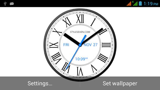 Roman Clock Live Wallpaper7PRO - náhled