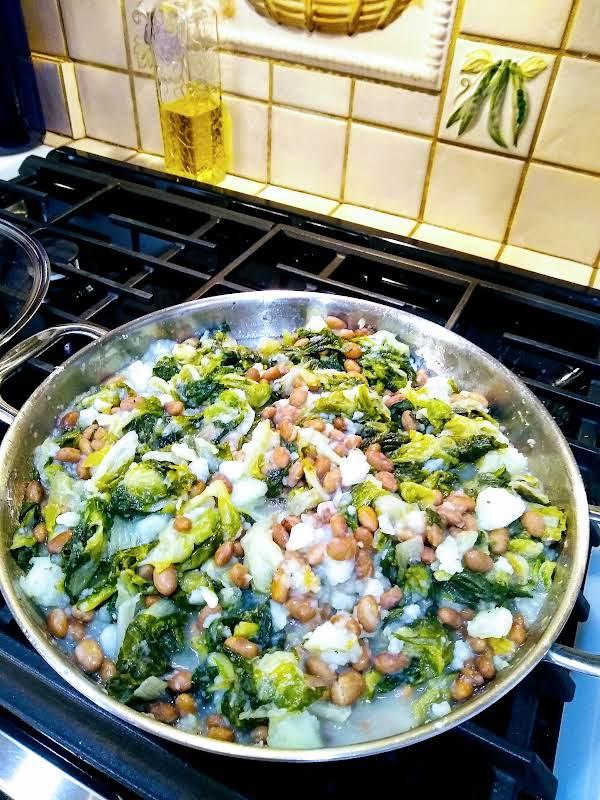 Patata Di Scarola E Fagioli Recipe