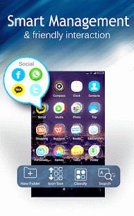 C Launcher – Themes, Wallpaper Screenshot 4