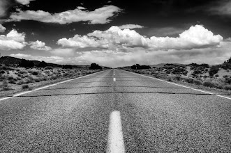 Photo: I'm really wanting to hit the road for a photo safari today. Instead, I'm getting started on my work day. The roads will be there though. Hope you all are having a nice Wednesday. Here's to open roads and far horizons...   ps. I love rural road shots. If you do too please insert this tag in your rural road posts. Remember to put a space in front of the # sign. #roadscapes