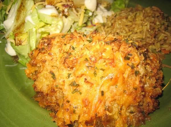 Crunchy Cheddar & Onion Chicken Breast~robynne Recipe