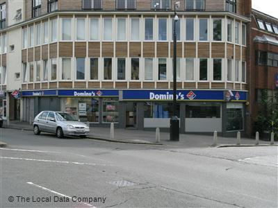 Dominos Pizza On Castle Street Pizza Takeaway In High