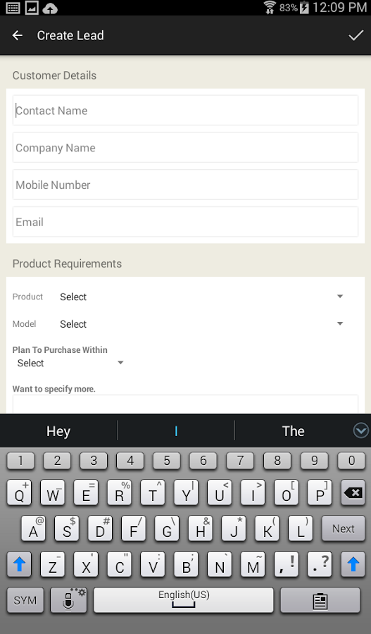 E-Serve-- TIPL Customers App- screenshot