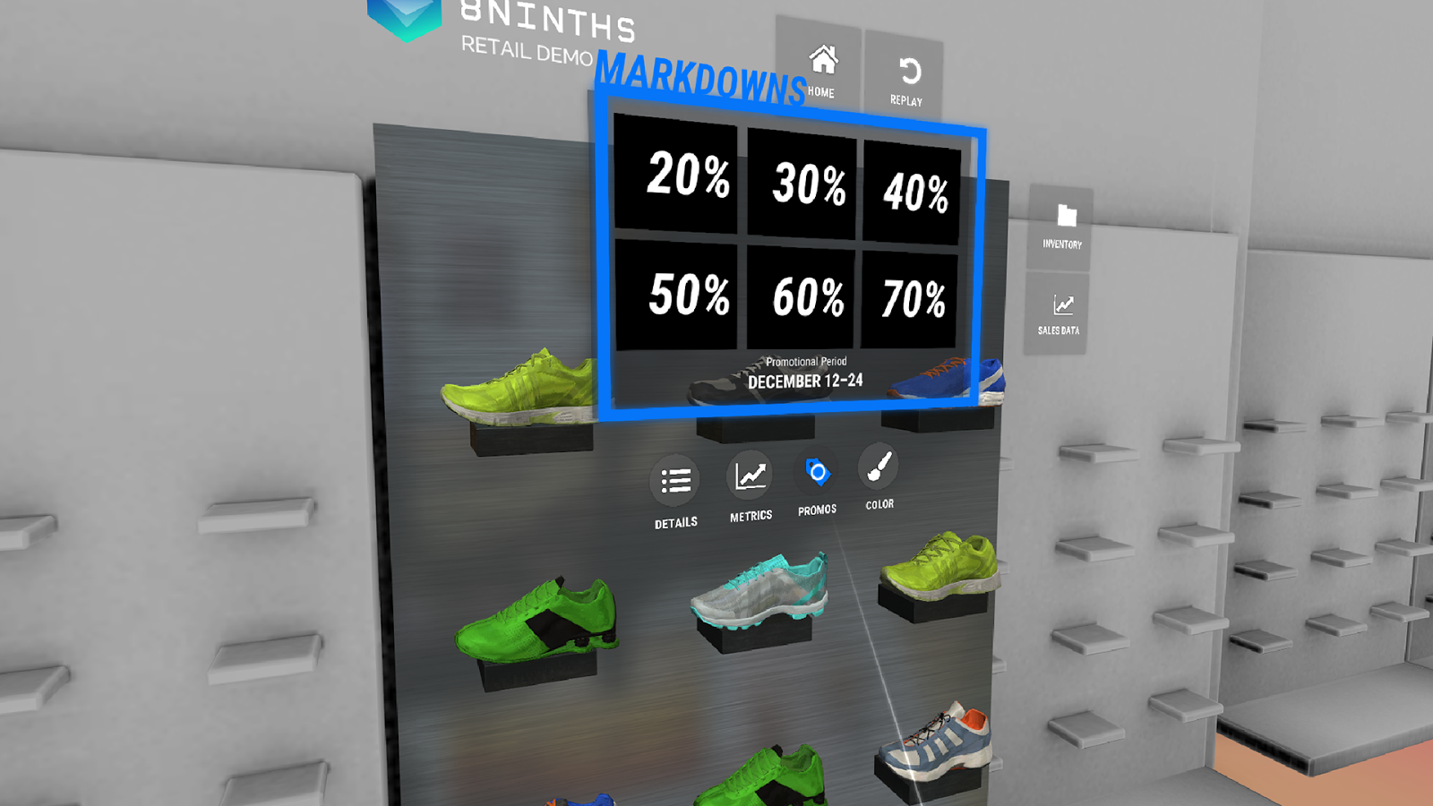 8ninths Enterprise Demo Suite- screenshot