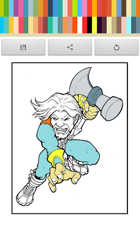 Coloring Thor Book