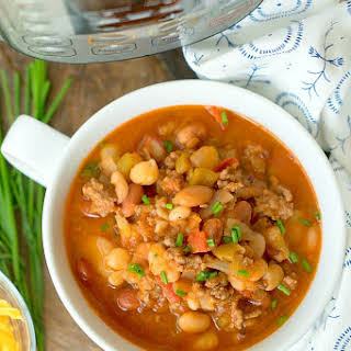 Pressure Cooker Chili With Dried Beans Recipes.
