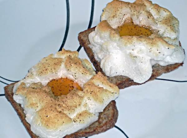 Eggs On A Cloud (toaster Oven) Recipe