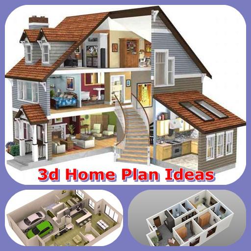 3D Home Plan Ideas