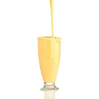 Vegan Peaches n Cream Shake