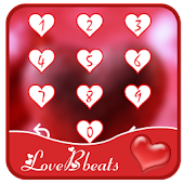 Love heartbeats gleam theme