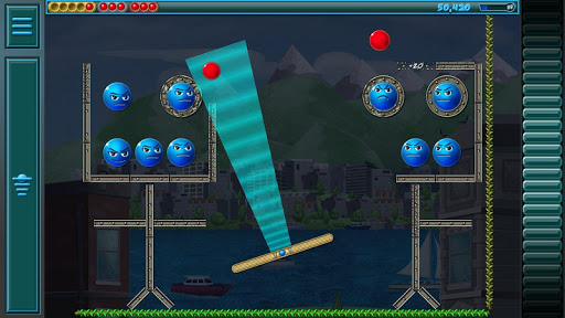 Evil Orbs - Physics Ball Shooter And Bubble Popper - screenshot