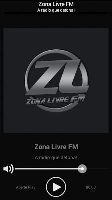 Radio Zona Livre FM Brasil - screenshot