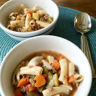 One pot gluten-free Italian soup