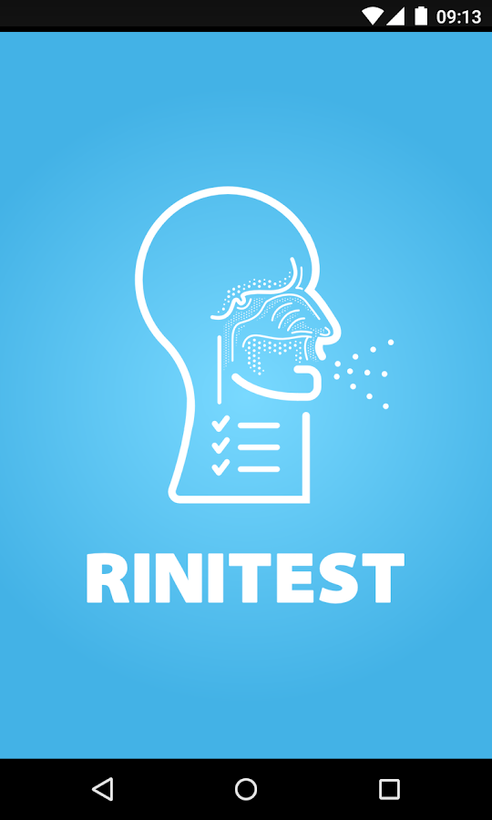 Rinitest- screenshot