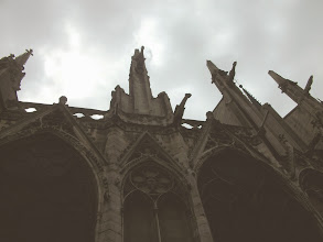 Photo: Gargoyles of Notre Dame, Paris, France