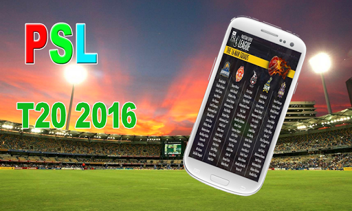 PSL T20 Cricket Live 2016