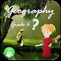 6th Grade Geography Quiz icon