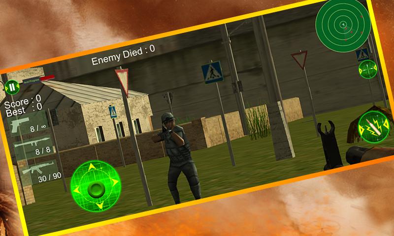 android City Commando Counter Strike Screenshot 3