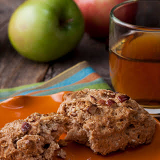 Honey Apple Oat Biscuits.