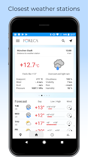 Foreca Weather screenshot 7