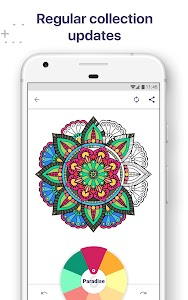 Coloring Book For Me Mandala 22 Premium