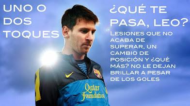 Photo: 2013 no parece el mejor año para Leo Messi