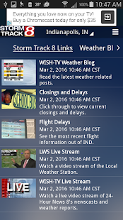WISH-TV Weather - Indianapolis- screenshot thumbnail