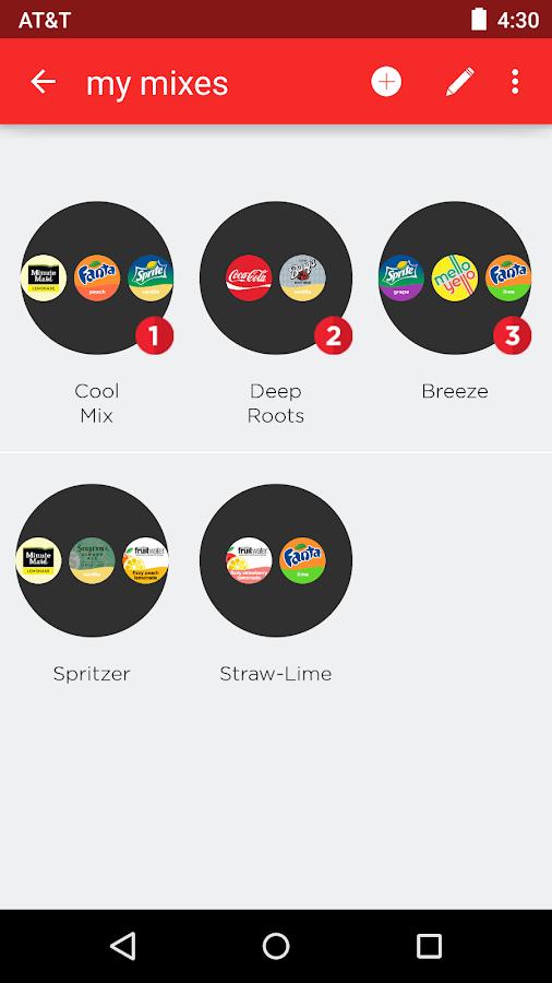 Coca-Cola Freestyle - screenshot