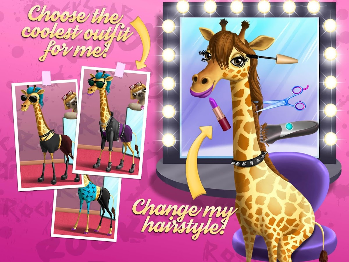 Rock Star Animal Hair Salon - Android Apps on Google Play