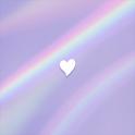 [메리골드] 파스텔 홀로그램 카카오톡 테마 icon
