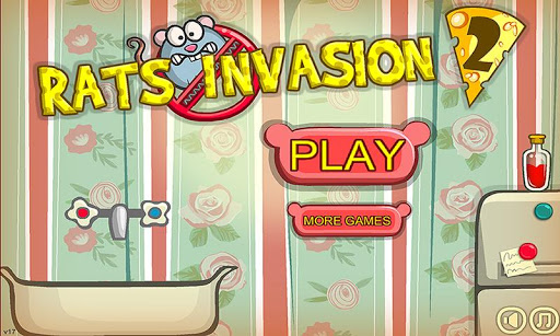 Rats Invasion 2 : Physics Puzzle Game - screenshot