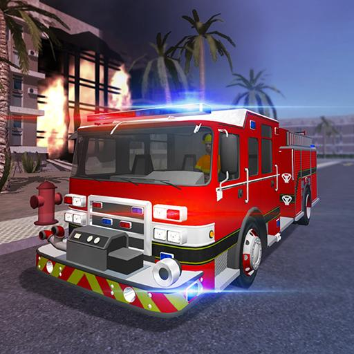 Fire Engine Simulator Icon