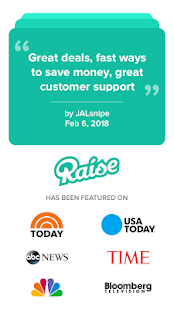 Raise - Discounted Gift Cards- screenshot thumbnail