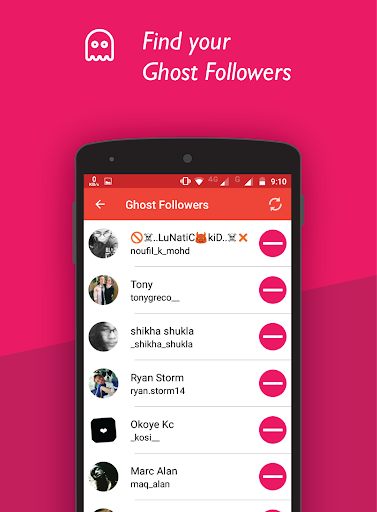 Unfollowers & Ghost Followers for Instagram for PC