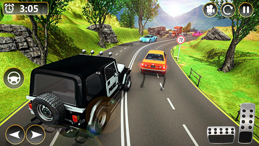 Offroad Police Jeep 4x4 Driving & Racing Simulator 1.7.4 screenshots 2
