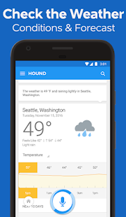 HOUND Voice Search & Mobile Assistant Capture d'écran