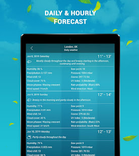 App Live Weather - Weather Forecast Apps 2019 APK for Windows Phone